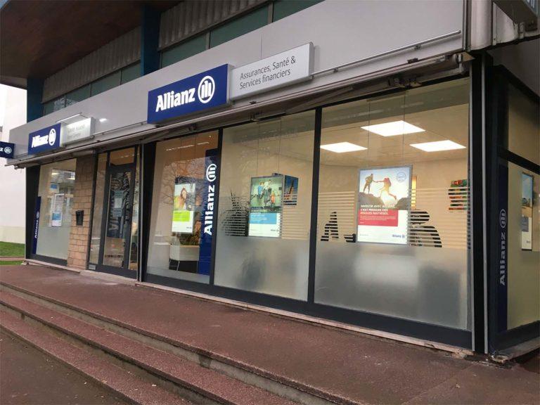 Allianz – Adhésif vitrine