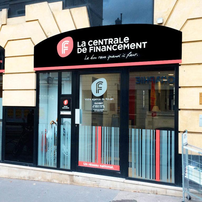 La Centrale de financement – Enseigne