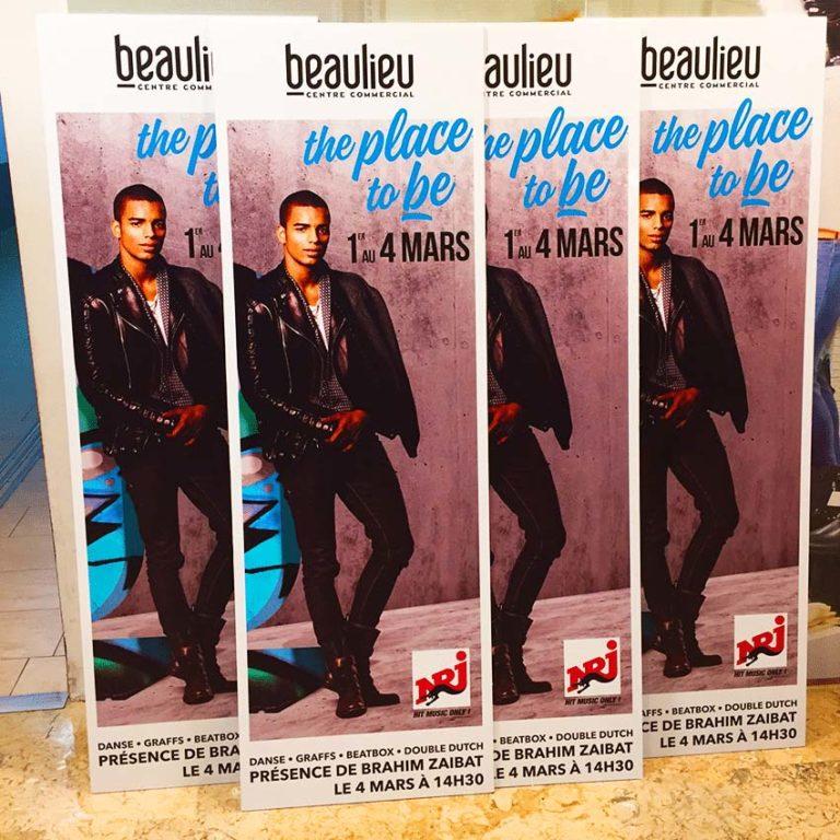 Centre Commercial Beaulieu – Totems Publicitaires