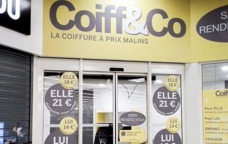Coiff&Co – Enseigne