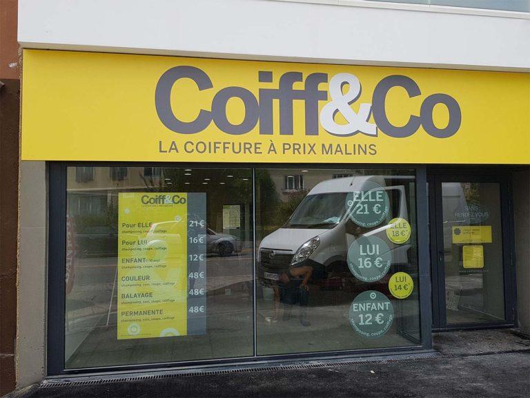 Coiff&Co – Vitrine