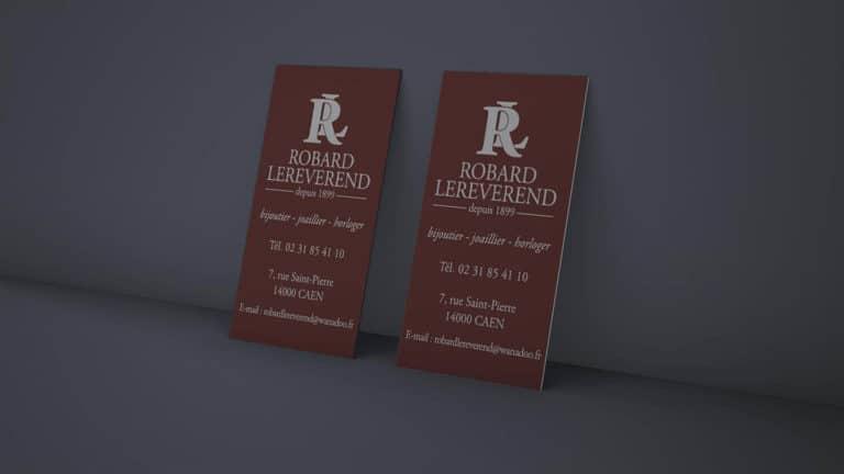 Robard Lereverend – carte de visite