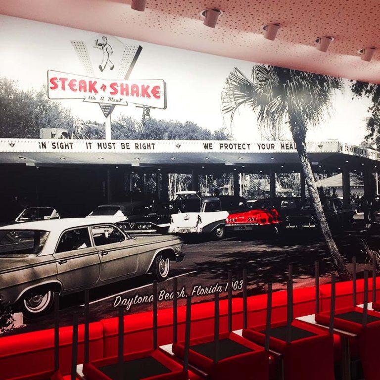 Steak N' Shake – Décoration Intérieur