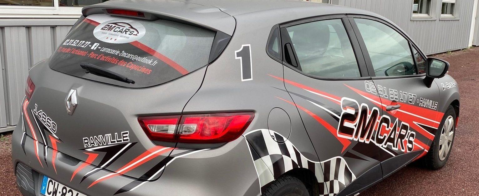Nouveau covering pour les véhicules de la société 2M CAR'S.