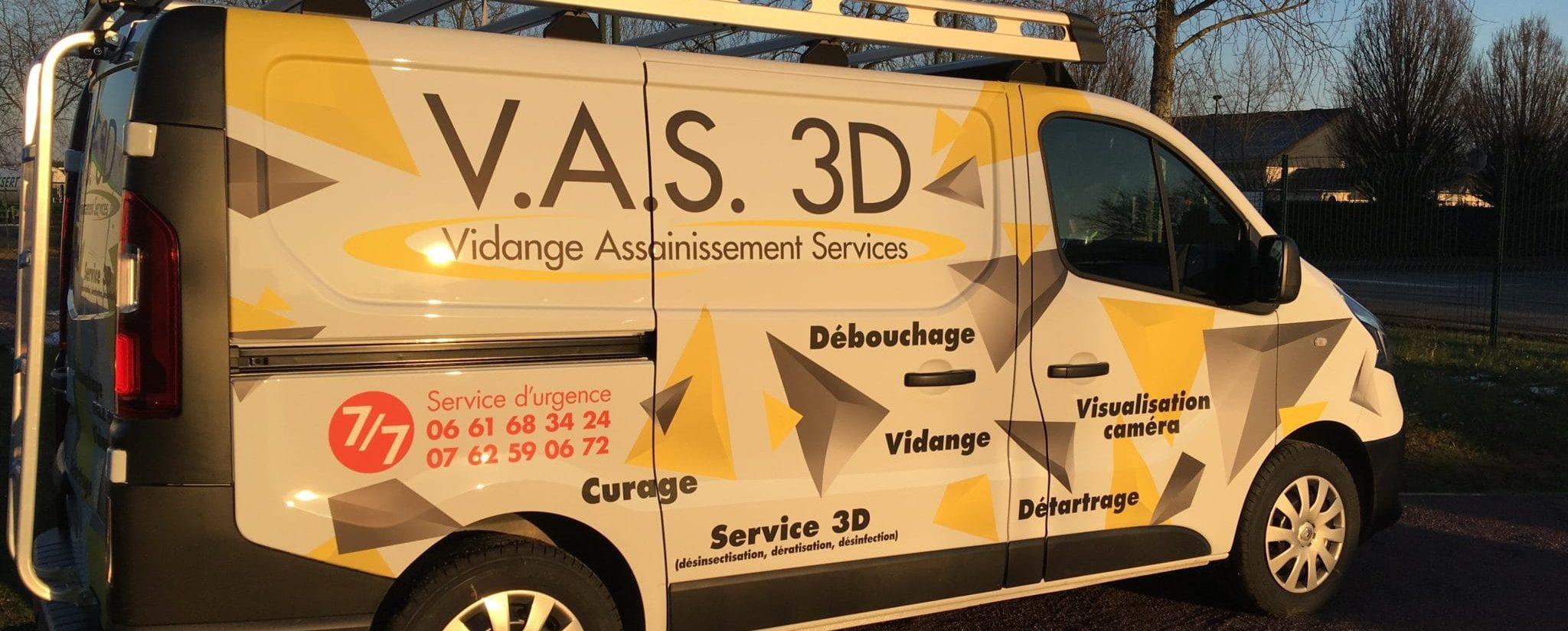 Nouveau covering pour les véhicules de V.A.S 3D