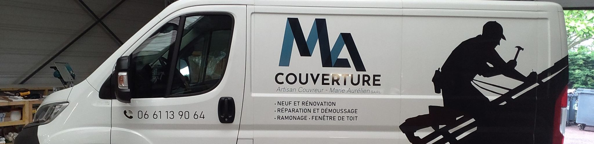 Un covering tout en élégance pour les véhicules de la société MA Couverture